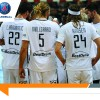 Le Paris Saint-Germain Handball gagne à Chambéry