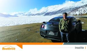 Il s'attaque à l'Himalaya en Nissan GT-R !