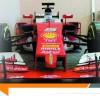 Il construit une Ferrari SF16-H en carton !