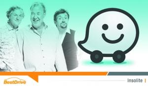 Clarkson, Hammond & May vous indiquent votre itinéraire avec Waze