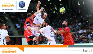 Le Paris Saint-Germain Handball vainqueur contre Caen