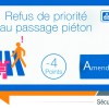 Piéton engagé, attention au PV !