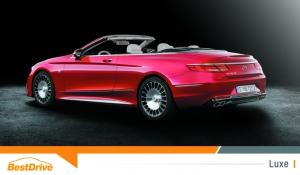 Toutes les photos de la nouvelle Mercedes-Maybach Classe S 650 Cabriolet