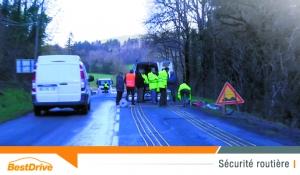 Dans le Tarn, on chauffe la route pour éviter les accidents