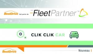 En région parisienne, Click Click Car propose les services de BestDrive via Fleet Partner