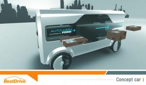 Ford Autolivery Concept : dites au revoir aux galères de livraison !