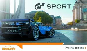Gran Turismo Sport : la sortie officielle approche