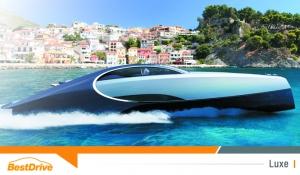 Yacht Bugatti Niniette 66 : la Chiron des mers