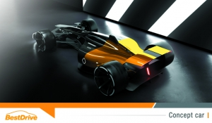Formule 1 : Renault révèle le concept car RS 2027 Vision, monoplace de demain