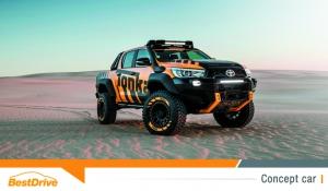 Toyota HiLux Tonka Concept : un jouet grandeur nature
