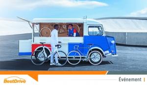 Citroën fête les 70 ans du Type H avec Le Coq Sportif