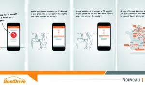 Appli SOS Autoroute : une borne d'appel d'urgence dans votre smartphone