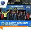 Le Paris Saint-Germain Handball reçoit officiellement le trophée du championnat de France