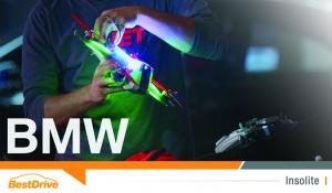 Une course de drones organisée au siège de BMW