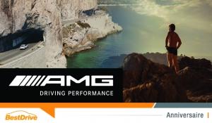 Pour ses 50 ans, Mercedes-AMG repousse ses limites avec Guillaume Nery