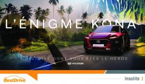 Résolvez l'énigme Hyundai Kona avant le 18 septembre