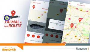 « 40 millions d'automobilistes » lance l'appli « J'ai mal à ma route »