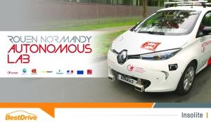 La Normandie roule en électrique autonome avec Renault