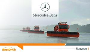 Des chasse-neige Mercedes ? Oui, mais autonomes !