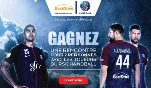 Gagnez une rencontre privilégiée avec les joueurs du Paris Saint-Germain Handball