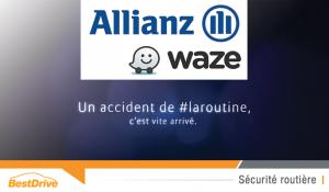 Allianz et Waze nous mettent en garde contre #laroutine