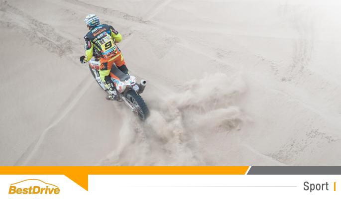 BestBlog - David Casteu se maintient à la 6e place du classement général du Dakar 2015