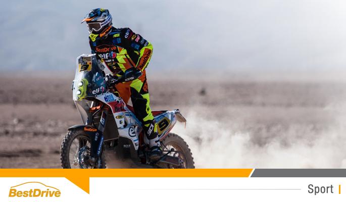 BestDrive - Davdi Casteu 8e au général du Dakar 2015