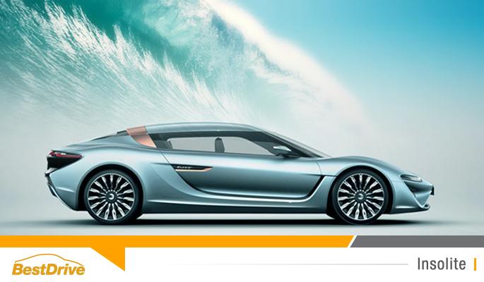 BestDrive - Une voiture qui roule à l'eau de mer