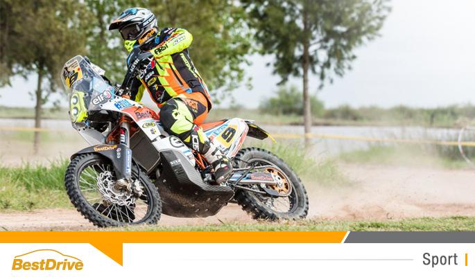 BestDrive partenaire de David Casteu - Dakar 2015 étape 1
