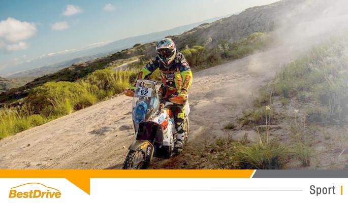 BestDrive partenaire de David Casteu - Dakar 2015 étape 3