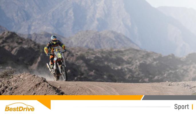 BestDrive partenaire de David Casteu - Dakar 2015 étape 4