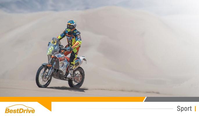 BestDrive partenaire de David Casteu - Dakar 2015 étape 6