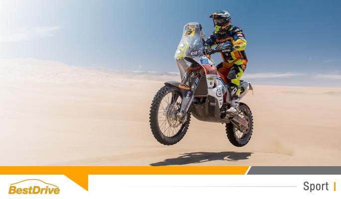 BestDrive partenaire de David Casteu - Dakar 2015 journée de repos à Iquique