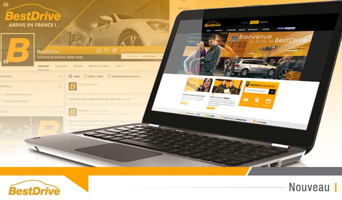 Lancement du site bestdrive.fr et des réseaux sociaux BestDrive
