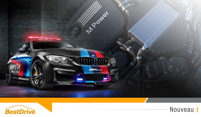 BestDrive - BMW M4 MotoGP Safety Car 2015