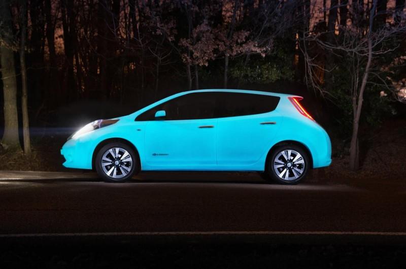 BestDrive - Nissan Leaf phosphorescente 01