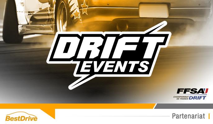 BestDrive partenaire de Drift Events - Championnat de France de drift 2015