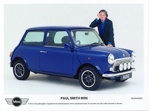 BestDrive - Austin Mini Paul Smith 1998 limited edition