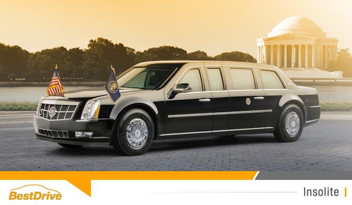 BestDrive - Cadillac limousine Barack Obama 00