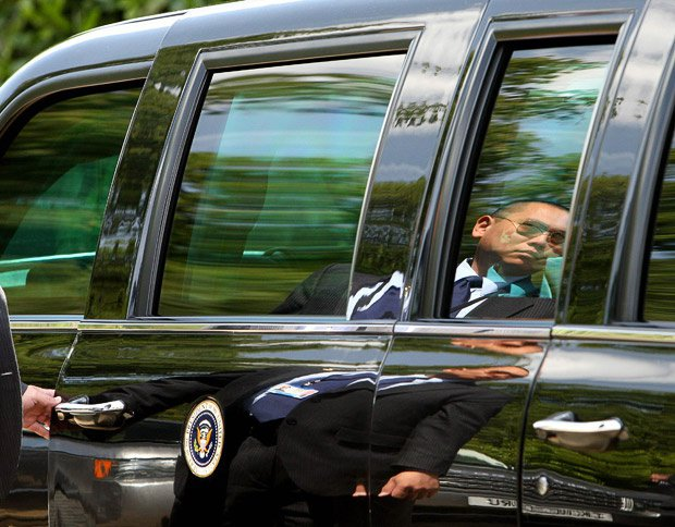 BestDrive - Cadillac limousine Barack Obama 01