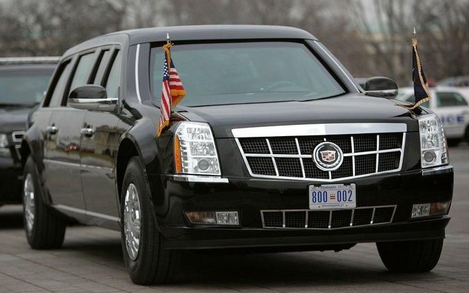 BestDrive - Cadillac limousine Barack Obama 03
