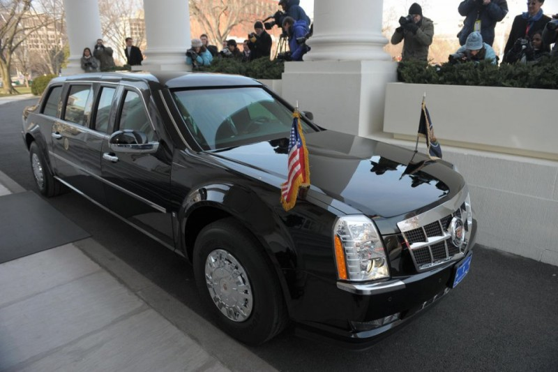 BestDrive - Cadillac limousine Barack Obama 05
