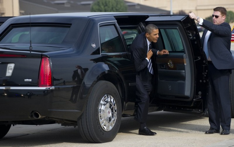 BestDrive - Cadillac limousine Barack Obama 06