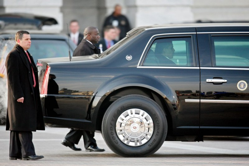 BestDrive - Cadillac limousine Barack Obama 07