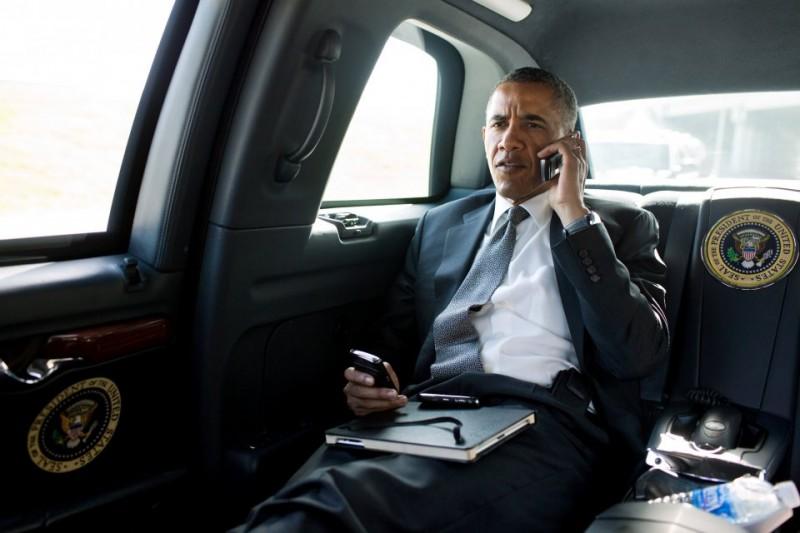 BestDrive - Cadillac limousine Barack Obama 09