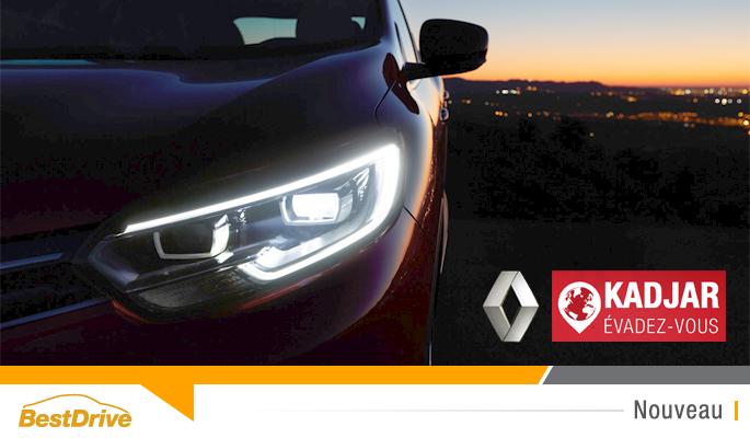 BestDrive - Evadez-vous avec le Renault Kadjar