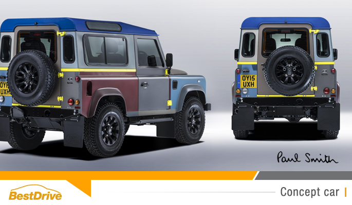 BestDrive - Land Rover Defender Paul Smith