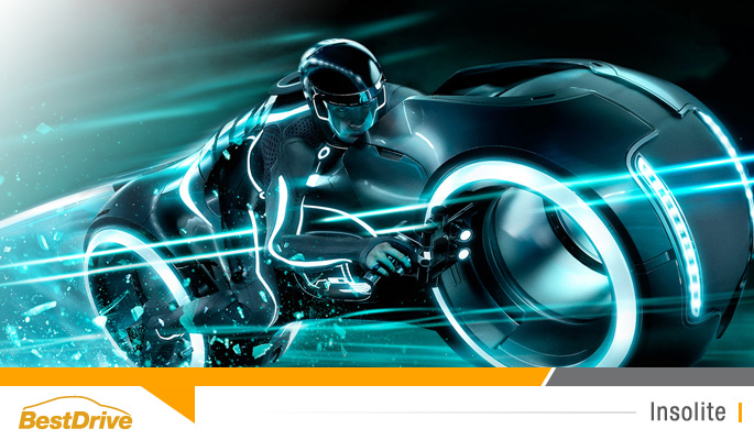 BestDrive - Light Cycle Tron Legacy aux enchères