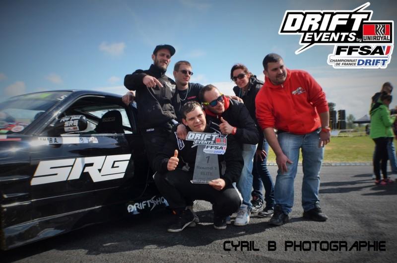 BestDrive - Championnat de France de drift 2015 1er round Mérignac