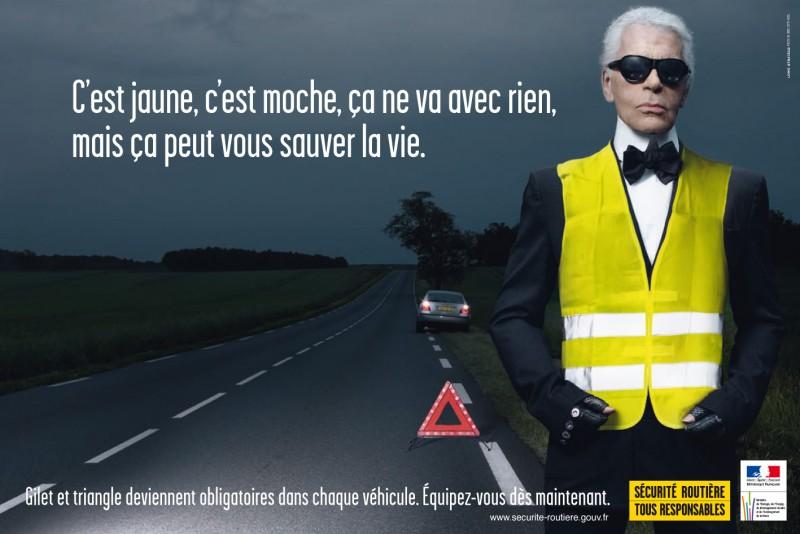 BestDrive - Gilet jaune Karl Lagerfeld